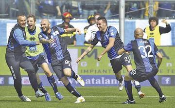 Atalanta se juega la Champions en casa del Juventus