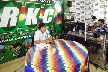 """Evo dice que opositores agredieron a Almagro """"casi hasta físicamente"""""""