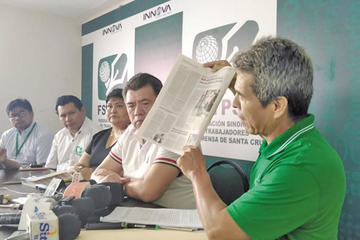 Denuncian amedrentamiento del ministro Romero a un periodista