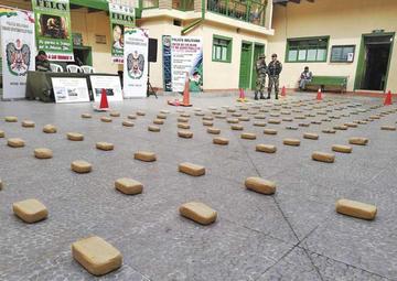 """Felcn incauta droga con """"marca registrada"""" por narcotraficantes"""
