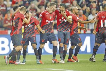 """Paranaense ganó a River en el """"Arena da Baixada"""""""