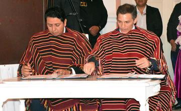 Suscriben un acuerdo para explorar el pozo Yapucaiti