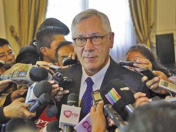 El Gobierno retira la postulación de Rodríguez Veltzé a la CIDH