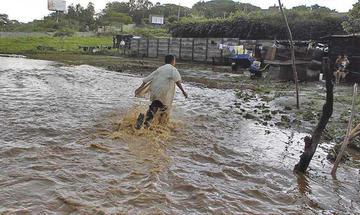 Escuelas de Nicaragua cierran por crecidas de ríos por las lluvias
