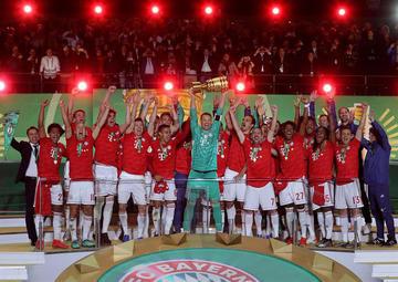 Bayern se corona campeón de la Copa de Alemania