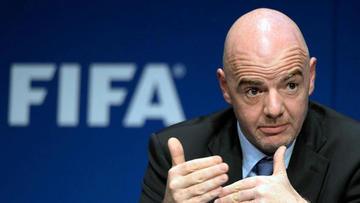 El presidente de la FIFA felicita al Bolívar