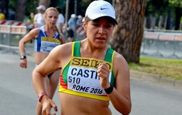 Bolivia logró plata en atletismo