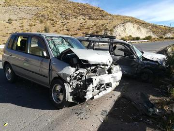 Una mujer da a luz después de un aparatoso accidente