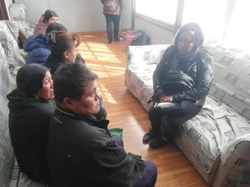 Abuelos piden custodia de sus nietos por caso de feminicidio en Caiza