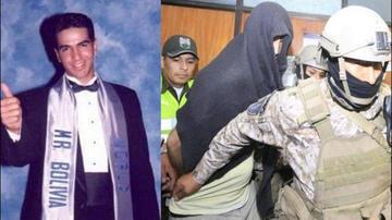 Exmíster Bolivia acusado de feminicidio intentó fugarse