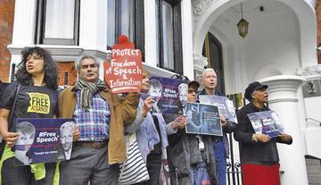Justicia sueca rechaza aplazar el caso de la acusación de Assange