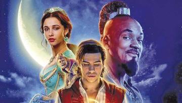"""""""Aladdin"""" vuela alto en la taquilla tras su estreno en cines estadounidenses"""