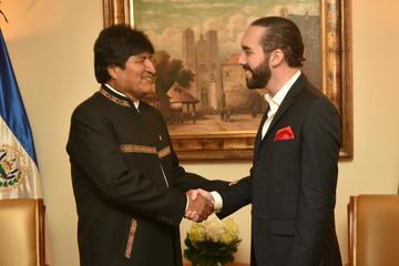 """Morales desea a Bukele una """"gran gestión"""" como presidente de El Salvador"""
