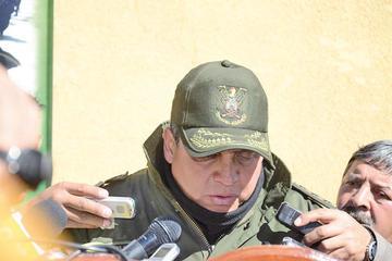 El subcomandante de la Policía Boliviana pide su pase al servicio pasivo