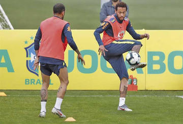 Brasil está listo para su amistoso ante Catar