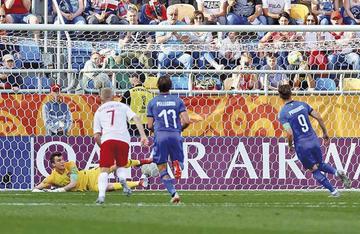 Un penal clasifica a Italia y deja fuera a la anfitriona del Campeonato del Mundo sub 20