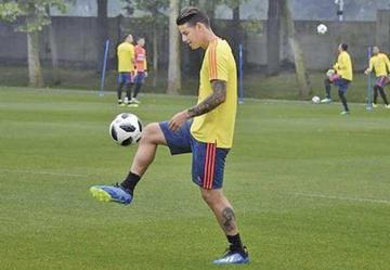 James, Uribe y Borja serán bajas en la selección de Colombia ante Panamá