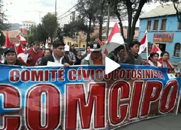 Cívicos marchan hoy por el litio y las aguas del Silala