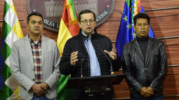 Caso taladros: solicitan impugnar sobreseimiento al expresidente de YPFB