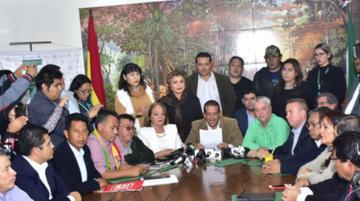 Iniciarán protestas que exigen la renuncia de los vocales del TSE