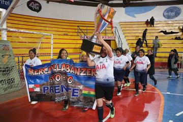 El Mercado Villa Banzer logró el título de las Caseritas 2019