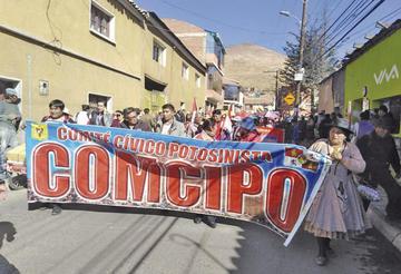Gobierno explica proyecto del litio y los cívicos anuncian paro