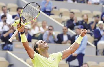 Nadal y Federer van a la semifinal