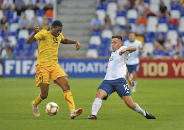 Malí venció a Argentina y se citará con Italia en cuartos de final del Mundial sub 20