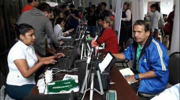 Argentina: hay 43 puntos de empadronamiento masivo