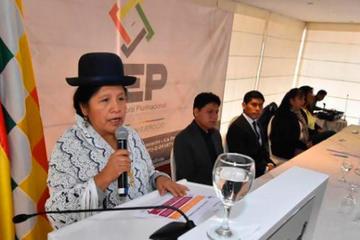 Asignan al TSE Bs 240 millones para garantizar las elecciones