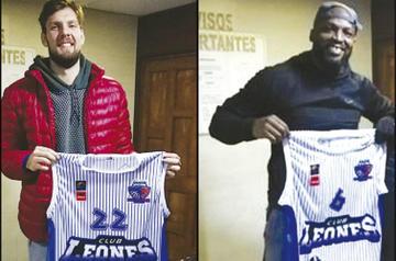 El club Leones se reforzó con dos extranjeros para la final del básquetbol