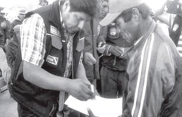 El camino Potosí - Uyuni quedó expedito luego de la firma de convenio