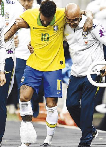 Neymar queda fuera de la Copa América