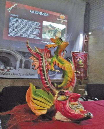 Bailarines ratifican origen potosino de la diablada
