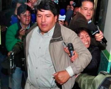 Determinan trasladar al exalcalde Patana a la cárcel de Patacamaya