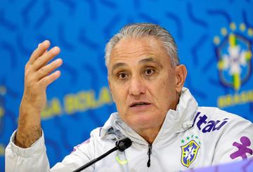 Tite está frustrado por no tener a Neymar