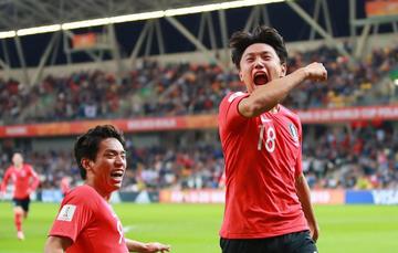 Corea del Sur gana en los penales a Senegal