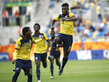 Ecuador se matricula en las semifinales al vencer a EE.UU.