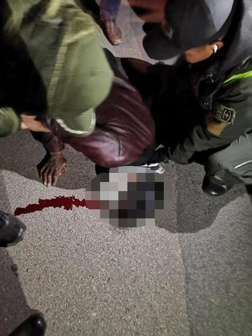 Reportan un herido por la peregrinación a Manquiri