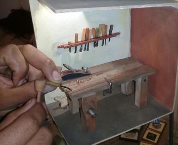 Mañana comienza la exposición de arte en miniatura