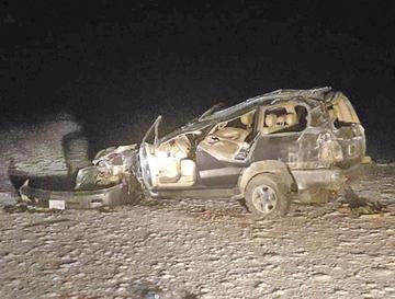 Se eleva número de muertos por accidente vial en el salar