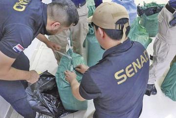 Secuestran 457 kilos de cocaína boliviana que iba a Argentina y Brasil