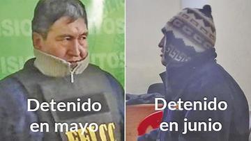El Alto: expolicía prontuariado con arresto domiciliario volvió a delinquir