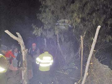 Encuentran cadáver de un anciano totalmente carbonizado en Tumusla