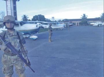 Intervienen dos aeropuertos con operativos antidroga en Beni