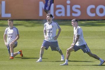 Argentina busca un triunfo ante Paraguay