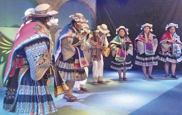 """Puna presentó su """"Carnaval del Fandango"""" en La Paz"""