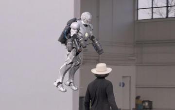 Construyeron una armadura de Iron Man que sí vuela