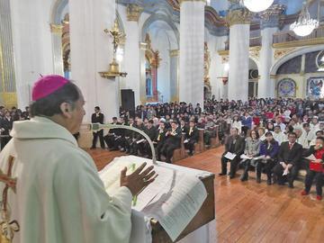 Obispo dice que es injusto que Potosí reciba el 3 % por el litio