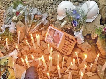 Sobreviviente de la mina y restos de Veizaga ya están en Bolivia